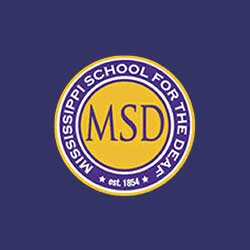 Mississippi School for the Deaf Logo