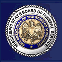 State Board of Funeral Service logo