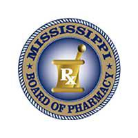 The Mississippi Board of Pharmacy Logo