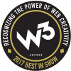 W3 Awards: Best in Show